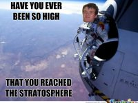 really high guy meme stratosphere
