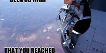 really high guy meme stratosphere