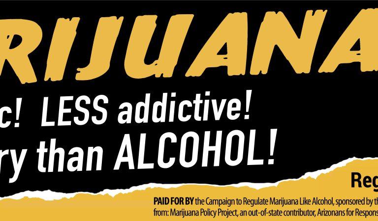 Marijuana: Less Scary Than Alcohol
