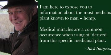 rick simpson hemp oil quote