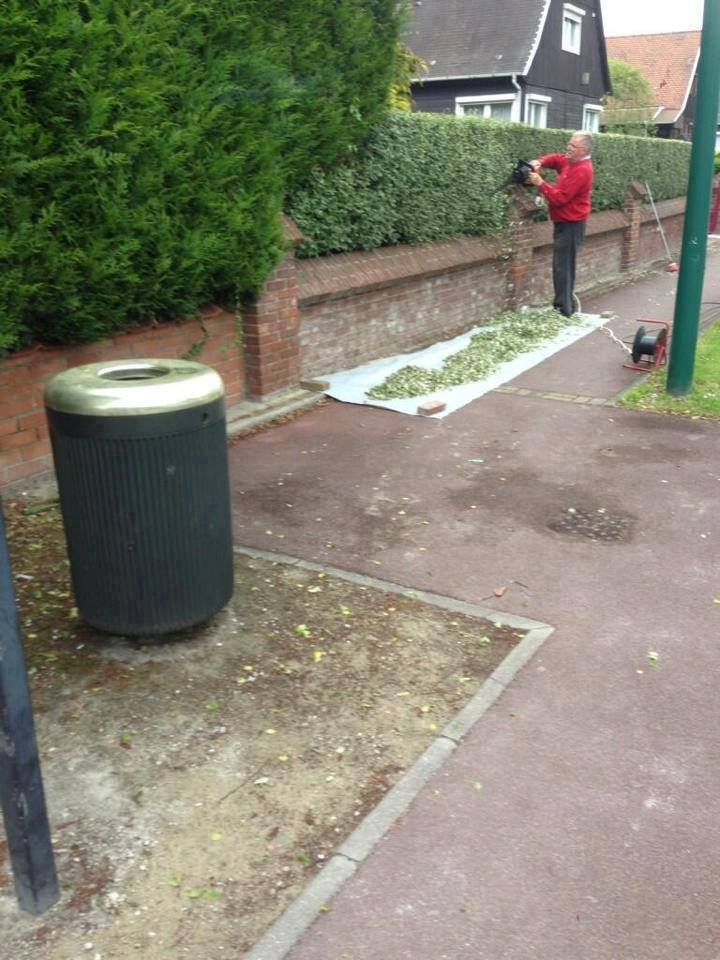 rolling big joint hedge