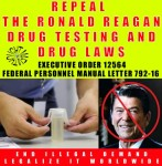 ronald regan drug tetsing at work