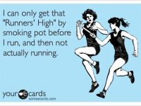Runners' High marijuana meme