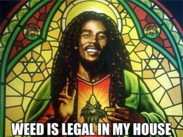 stained glass bob marley weed legal my house