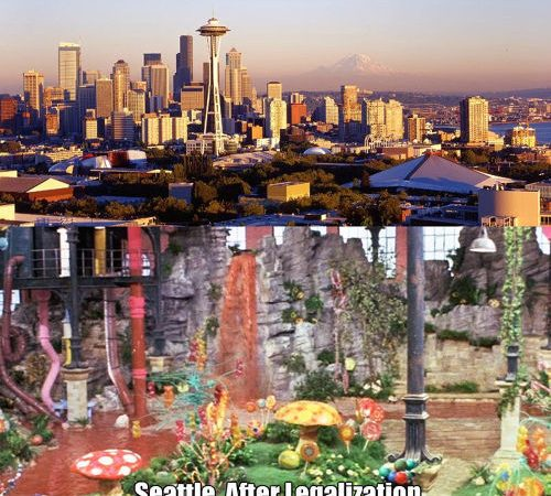 Seattle Before And After Marijuana Legalization