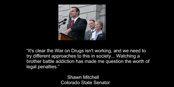 Colorado State Senator Shawn Mitchell Quote