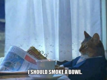 i should smoek a bowl