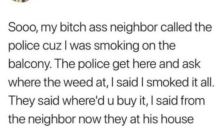 How to deal with bad neighbours