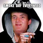 smoke everyweed really high guy smoke weed snoop dogg