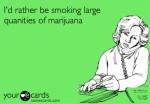 smoking lots of weed meme