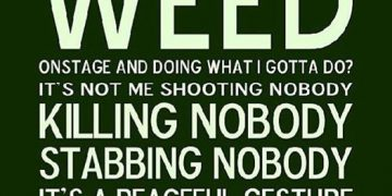 Weed Smoking Quote snoop dogg