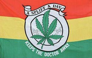 A Spliff A Day Keeps The Doctor Away