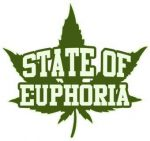 state of euphoria cannabis leaf