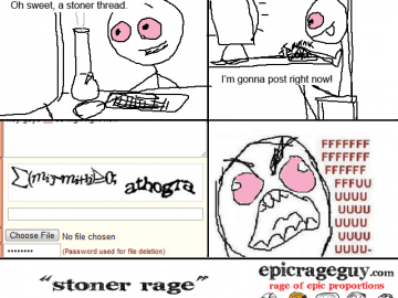 rage comic stoner captchas problems