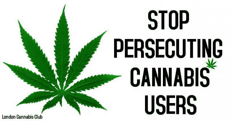 Stop Persecuting Cannabis Users meme