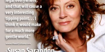 Susan Sarandon talks about marijuana