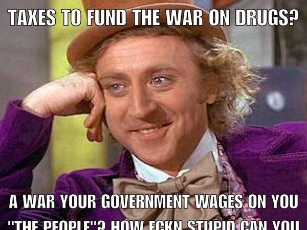 The absurdity of the 'war on drugs'