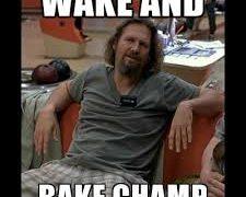 wake bake champion the dude