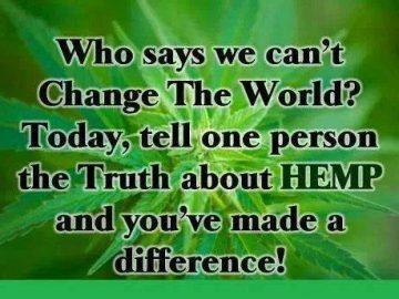 change the world hemp