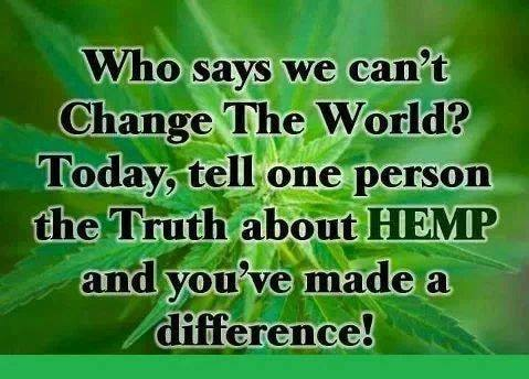 change the world hemp