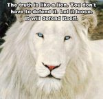 truth like lion defend
