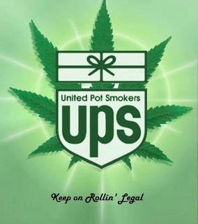 United Pot Smokers logo ups