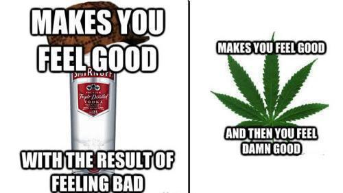 Vodka Vs Weed