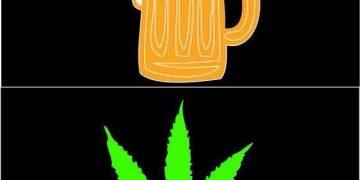 wake bake alcohol vomit meme
