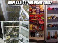 weed munchies marijuana meme