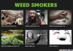 Weed Smokers What People Think I Do / What I Really Do