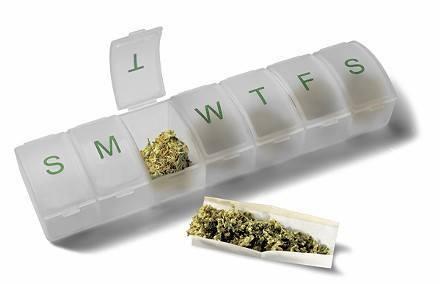 weekly supply marijuana medicine