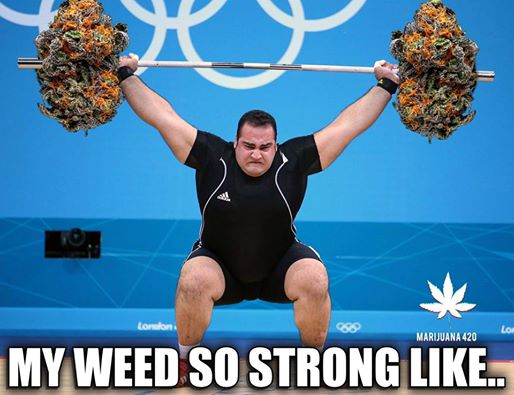 My weeds so strong like…