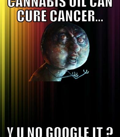 Cannabis oil can cure cancer