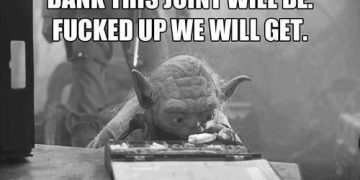 yoda fucked up weed meme